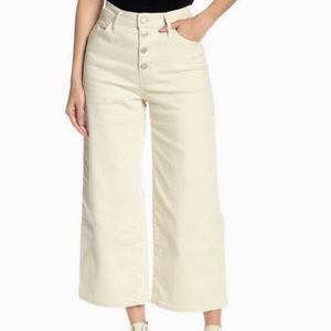 NWT LEVIS MILE HIGH RISE CROPPED WIDE LEG JEANS